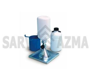 تجهیزات تعیین دانسیته به روش مخروط ماسه